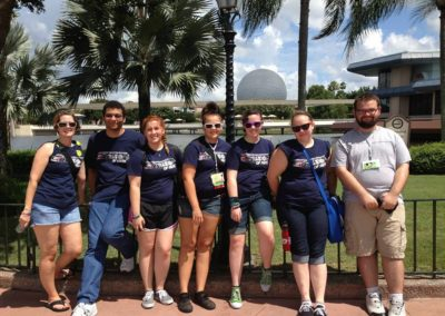 Youth at EPCOT during General Assembly 2013