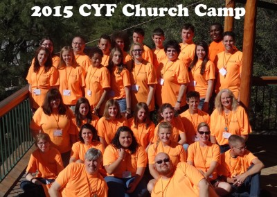 2015 church camp C Y F full group