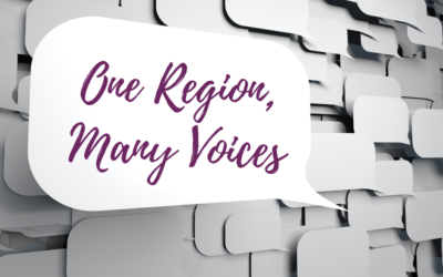 """""""One Region, Many Voices"""" Conversation Series"""