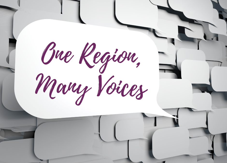 """One Region, Many Voices"" Conversation Series"