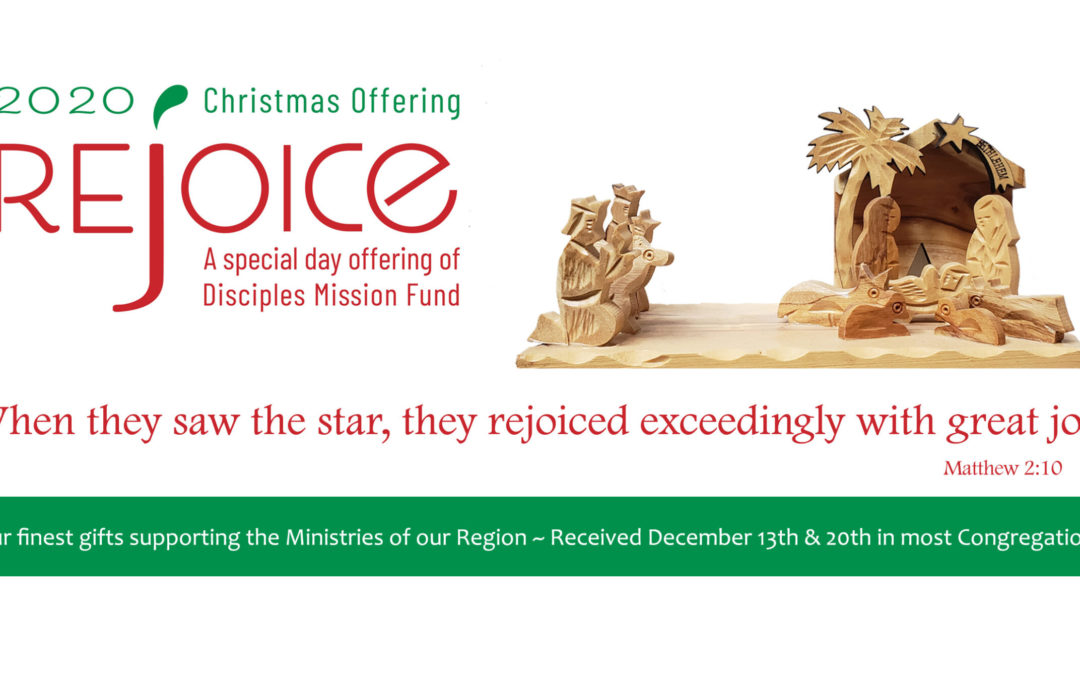 Rejoice! Special Day Offerings of Disciples Mission Fund