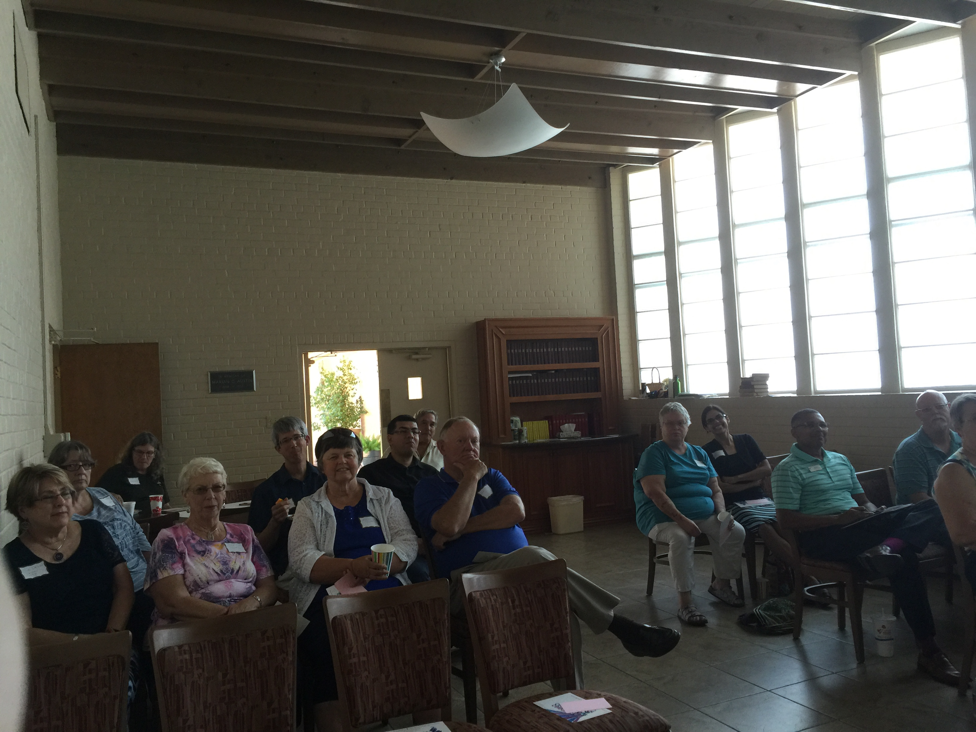 Mission First meeting group in Tucson